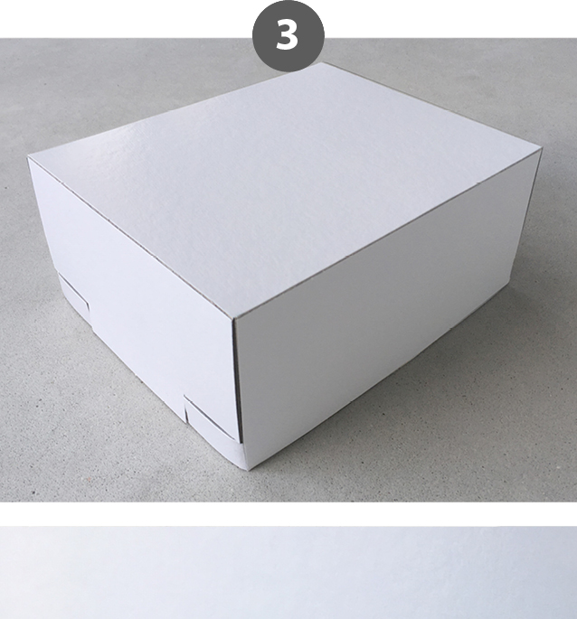 Blanco doos - onbedrukte box